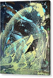 A Private Universe Of Despair Acrylic Print by Bruce Combs - REACH BEYOND