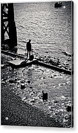 Acrylic Print featuring the photograph A Quiet Moment... by Lenny Carter