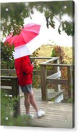 A Rainy Summer's Day Acrylic Print by Karol Livote