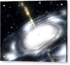 A Rare Galaxy That Is Extremely Dusty Acrylic Print