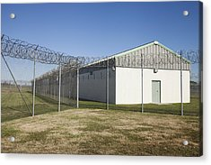 A Residential Unit Wing Or Dormitory Acrylic Print by Roberto Westbrook