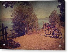 A Ride Down To The Lake Acrylic Print