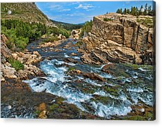 A River Runs Through It Acrylic Print by Lanis Rossi