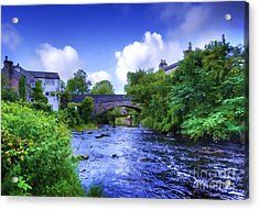Acrylic Print featuring the photograph A River Runs Thru It In The Yorkshire Dales by Jack Torcello