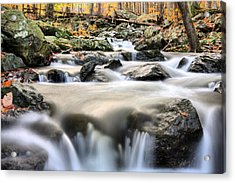 A Rocky Road Acrylic Print by JC Findley
