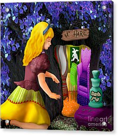 A Room In Wonderland  Acrylic Print by Lois Mountz
