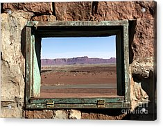 A Room With A View Acrylic Print by Karen Lee Ensley