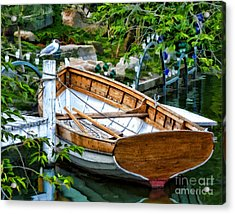 A Safe Haven Acrylic Print by Julia Springer