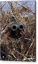 A Scout Observer Practices Observation Acrylic Print by Stocktrek Images