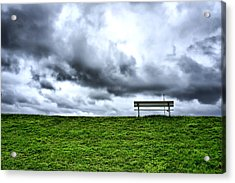 A Seat With A View Acrylic Print by Edward Myers