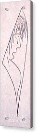 A Shoulder To Cry On Acrylic Print by Kip Vidrine