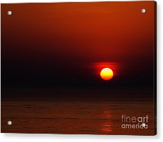 A Simple Time Of Day Acrylic Print