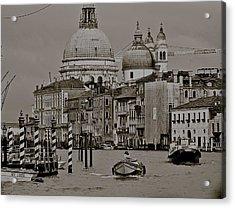 A Slice Of Venice Acrylic Print by Eric Tressler