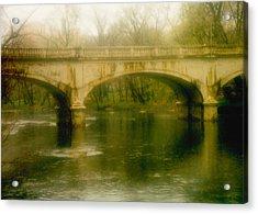 A Spring Bridge Acrylic Print