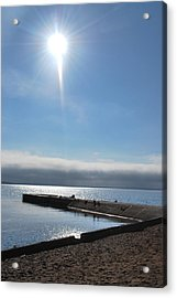 A Star In The Sky Acrylic Print by Tiffany Ball-Zerges