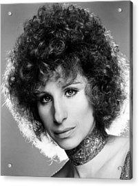 A Star Is Born, Barbra Streisand, 1976 Acrylic Print by Everett