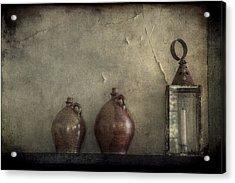 A Still Life Acrylic Print by Christine Annas