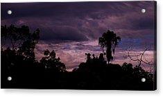 ..a Storm At Your Door Steep.. Acrylic Print by Adolfo hector Penas alvarado