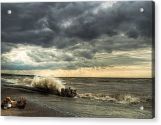 A Storm Is Brewing Acrylic Print