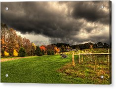 Acrylic Print featuring the photograph Storm Is Brewing by Yelena Rozov