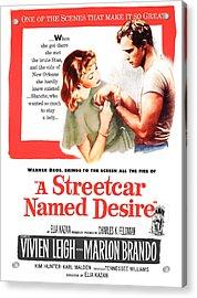 A Streetcar Named Desire, Vivien Leigh Acrylic Print