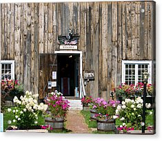 Acrylic Print featuring the photograph A Sugar Hill Welcome by Robin Regan