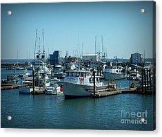 A Sunny Nautical Day Acrylic Print