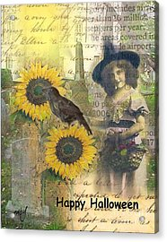 A Sunny Witch Day Acrylic Print