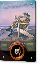 A Sweet Intemperance Acrylic Print by Patrick Anthony Pierson