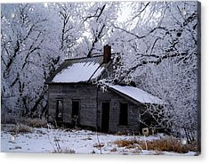 Acrylic Print featuring the photograph A Time Forgotten by Steven Clipperton