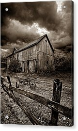 A Time Past Acrylic Print by Phil Koch
