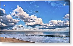 Acrylic Print featuring the photograph A Time To Reflect by Jim Moore