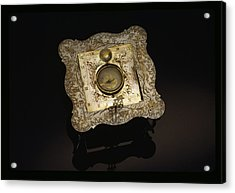 A Traveler Used This Instrument That Acrylic Print by Sisse Brimberg