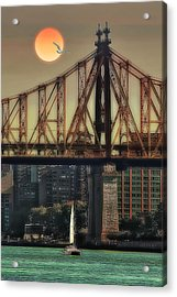A Trip Under The Bridge Acrylic Print by Tom York Images