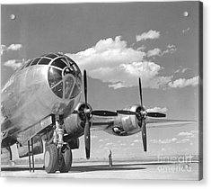A U.s. Army Air Forces B-29 Acrylic Print by Stocktrek Images