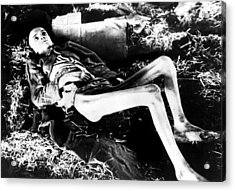 A Victim Of A German Concentration Acrylic Print by Everett