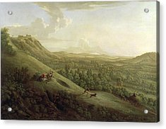 A View Of Boxhill - Surrey Acrylic Print by George Lambert