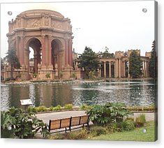 A View Of Palace Of Fine Arts Theatre San Francisco No One Acrylic Print