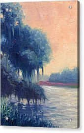 A View Of The Ashley River Acrylic Print