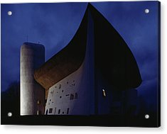 A View Of The Exterior Of The Chapel Acrylic Print by James L. Stanfield