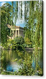 A View Of The Parthenon 11 Acrylic Print by Douglas Barnett