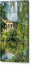 A View Of The Parthenon 13 Acrylic Print by Douglas Barnett