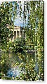 A View Of The Parthenon 5 Acrylic Print by Douglas Barnett
