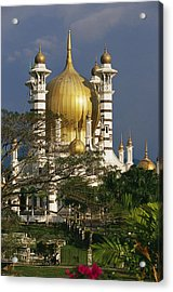 A View Of The Ubudiah Mosque Acrylic Print by Steve Raymer