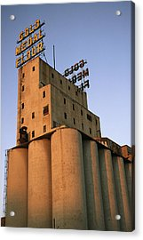 A View Of The Washburn Crosby A Mill Acrylic Print by Ira Block