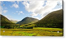 A View Over Rannoch Moor Acrylic Print by Chris Thaxter
