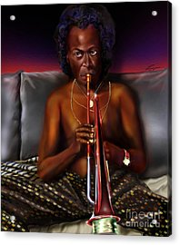 A Zillion Miles From Here Acrylic Print by Reggie Duffie
