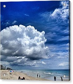 Aaamazing Today. #beach Acrylic Print