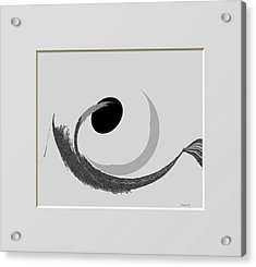 Ab-bb-b Acrylic Print by Ines Garay-Colomba