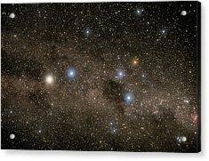 Ab Centauri Stars In The Southern Cross Acrylic Print by Akira Fujii